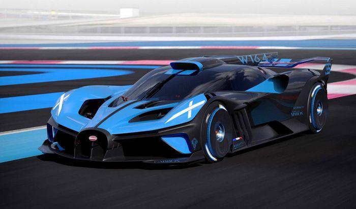 Самый быстрый и легкий Bugatti