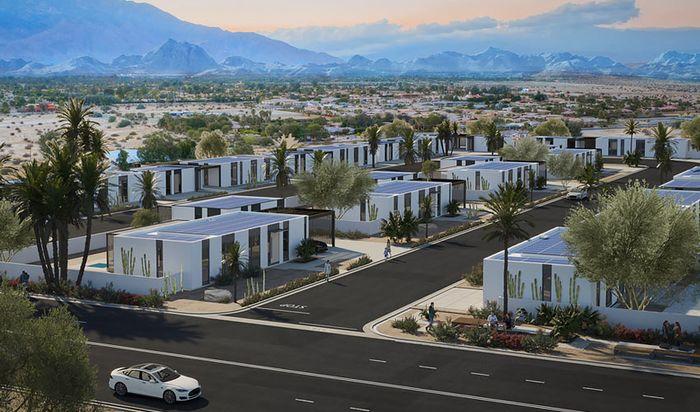 3Д дома с нулевым потреблением энергии