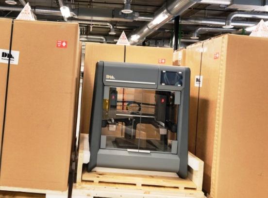 Первый 3Д принтер Studio System