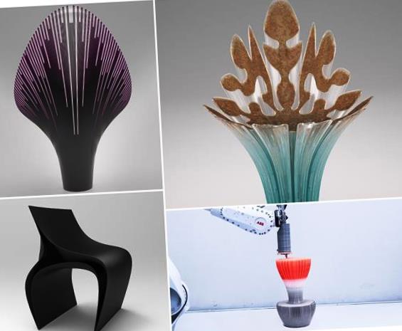 3Д стулья Zaha Hadid Architects & others