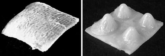 Реактивная 4Д печать
