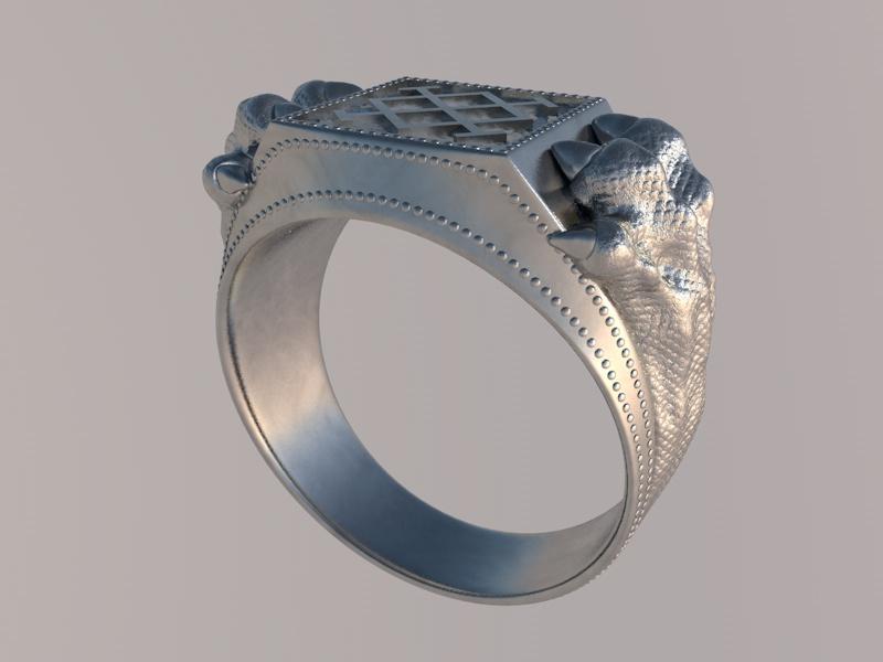 ювелирное 3d моделирование кольца