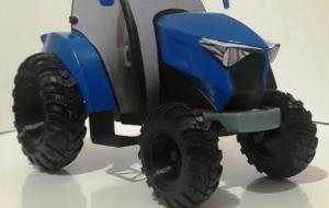 трактор на 3д принтере