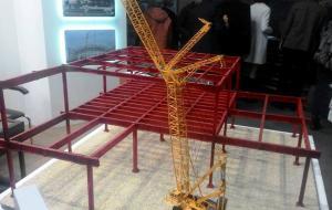 Архитектурный макет несущих конструкций.