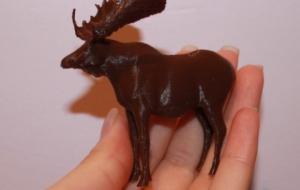 3d печать фигурки животных