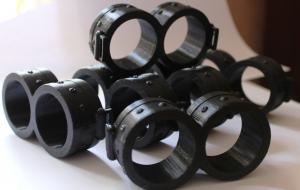 Очки персонажа Миньон 10см, черный ПЛА