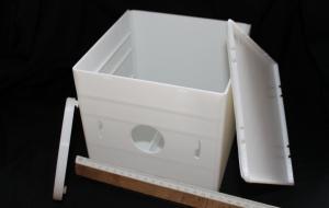 Короб для электронного оборудования со съемными крышками.