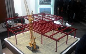 3D печать архитектурного макета для выставки.