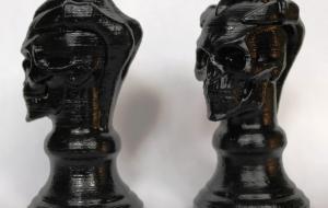 Уникальная рукоятка под резинку печати или штампа по собственной 3D модели.