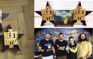Наградная продукция для фестиваля рок-музыки.