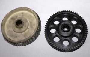 3Д печать шестеренки по имеющейся поврежденой модели.