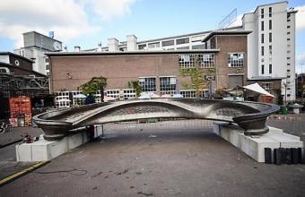 Амбициозный проект моста из металла