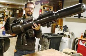3Д пистолет Оптимуса Прайма