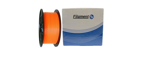PETG orange (оранжевый) пластик  для 3Д принтера
