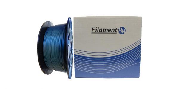 "PLA пластик для 3D принтера 1.75мм ""Filament-PM"" бриллиантово-голубой"