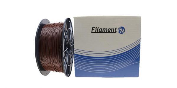 """PLA пластик для 3Д принтера 1.75мм """"Filament-PM"""" (коричневый)"""