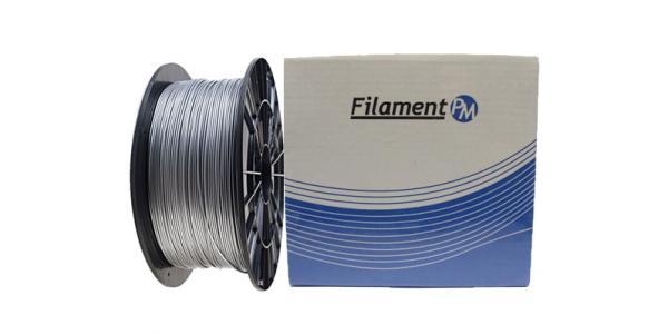"PLA пластик для 3Д принтера 1.75мм ""Filament-PM"" (серый)"