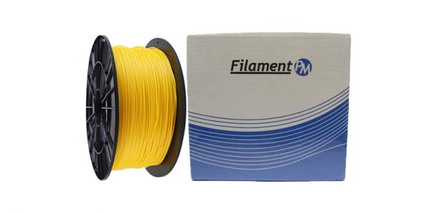 "PLA пластик для 3Д принтера 1.75мм ""Filament-PM"" (желтый)"