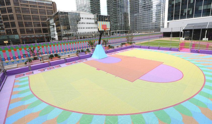 Баскетбольная площадка на 3Д принтере
