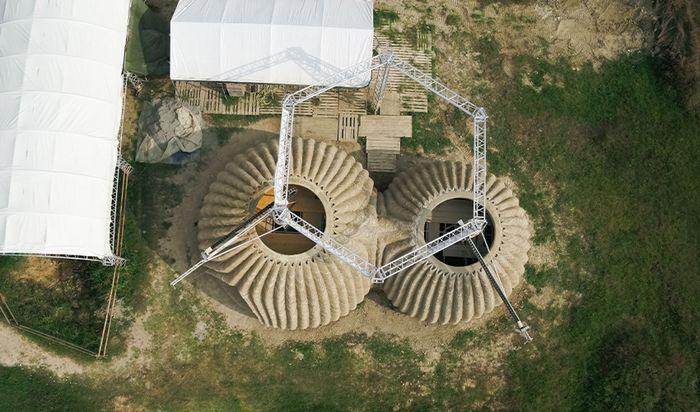 Экологический 3Д дом TECLA