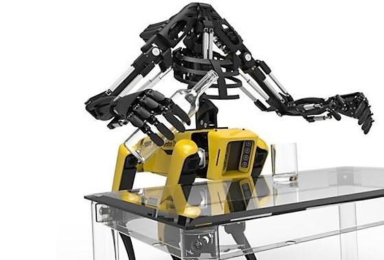 Удивительный робот на 3д принтере