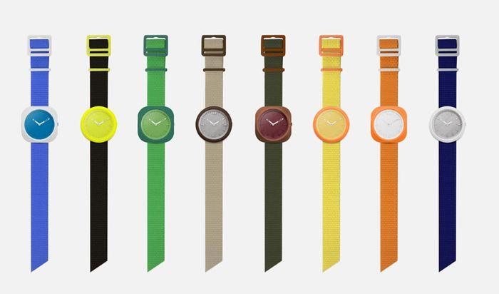 Экологичные 3Д часы Zigante